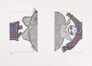 87 – Jonáš a velryba, diptych